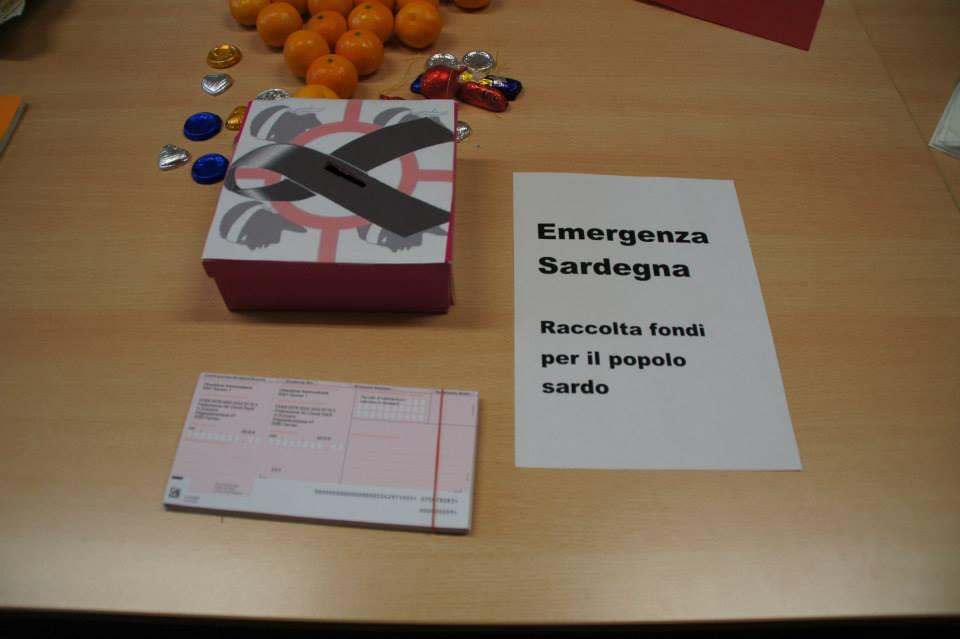 Raccolta per l'emergenza in Sardegna - 2013