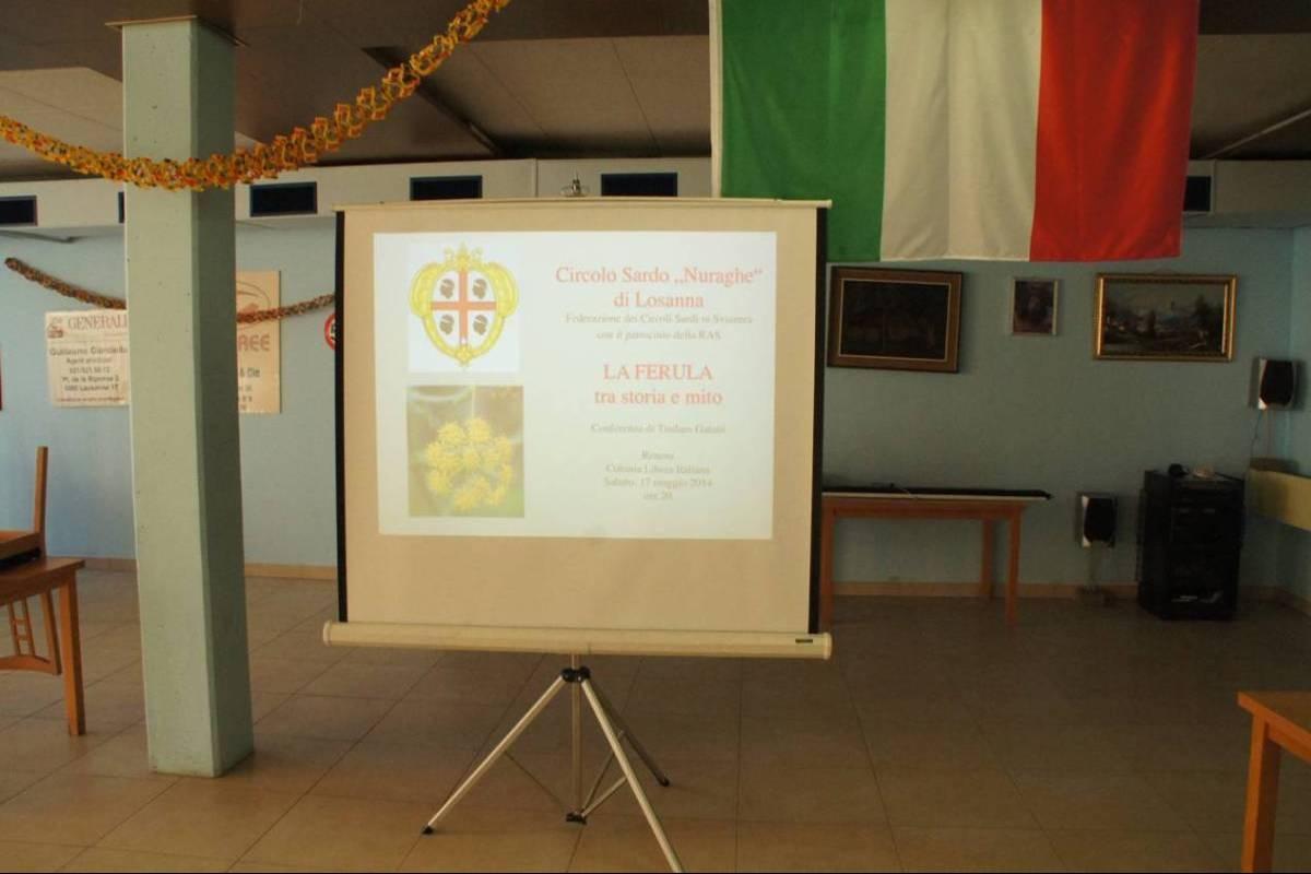 Conferenza sulla Ferula